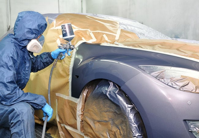 professional car painting